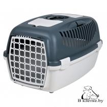 Переноска для собак и кошек до 12кг Trixie Traveller Capri III серая