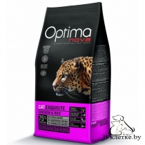 Корм Optima Nova Cat Exquisite Chicken & Rise
