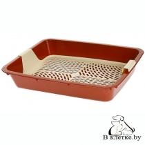 Туалет с сеткой для кошек Dogman «Большой»