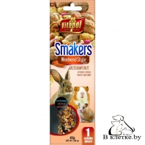 Зерновая палочка с орехами для грызунов Vitapol Smakers