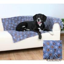 Подстилка для кошек и собак Trixie Laslo голубая